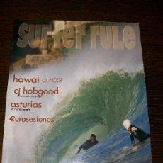 Coleccionismo deportivo: SURFER RULE Nº 72 (ENERO 2002) 180 PAGINAS APROX.. Lote 31556994