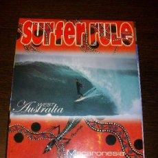 Coleccionismo deportivo: SURFER RULE Nº 74 (2002) 220 PAGINAS APROX.. Lote 31557045