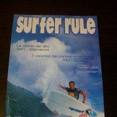 Coleccionismo deportivo: SURFER RULE Nº 75 (2002) 180 PAGINAS APROX.. Lote 31557049