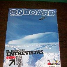Coleccionismo deportivo: REVISTA ONBOARD EUROPEAN SNOWBOARDING Nº 56 (MARZO 2003). Lote 31557136