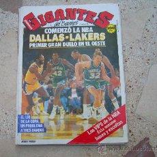Coleccionismo deportivo: GIGANTES DEL BASKET Nº 158,POSTER ALEX ENGLISH, LOS VIPS DE LA NBA. Lote 31692776