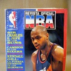 Coleccionismo deportivo: REVISTA, NBA, 1993, Nº 16, KENDALL HILL, CHR.. Lote 31705985