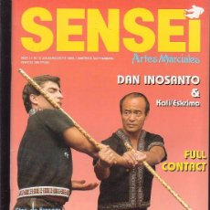 Coleccionismo deportivo: SENSEI Nº 6 , ARTES MARCIALES. Lote 31816374