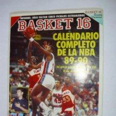 Coleccionismo deportivo: REVISTA BASKET 16 - NUMERO 96 (6 DE AGOSTO 1989) COMPLETA. Lote 31887557