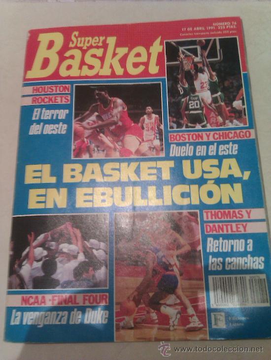 REVISTA SUPERBASKET SUPER BASKET AÑO 1991 NUMERO 76 BALONCESTO (Coleccionismo Deportivo - Revistas y Periódicos - otros Deportes)