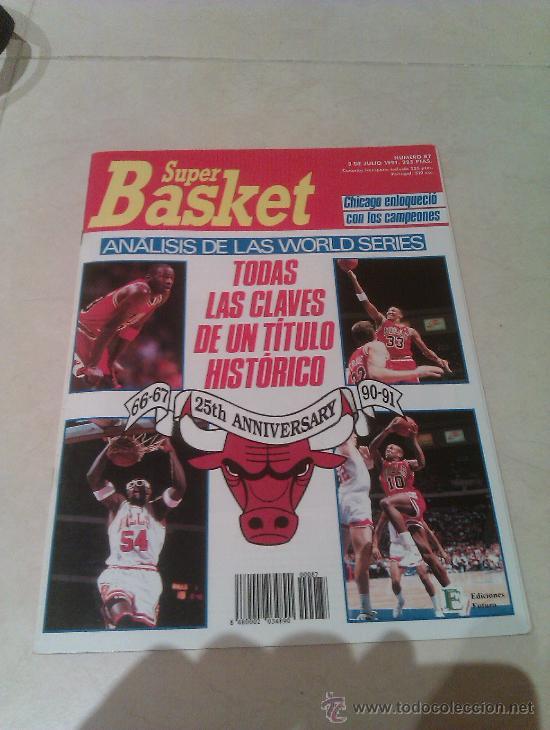 REVISTA SUPERBASKET SUPER BASKET AÑO 1991 NUMERO 87 BALONCESTO (Coleccionismo Deportivo - Revistas y Periódicos - otros Deportes)