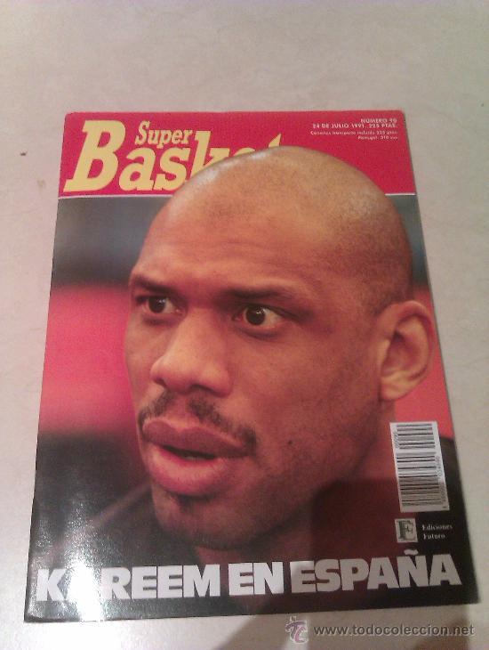 REVISTA SUPERBASKET SUPER BASKET AÑO 1991 NUMERO 90 BALONCESTO (Coleccionismo Deportivo - Revistas y Periódicos - otros Deportes)