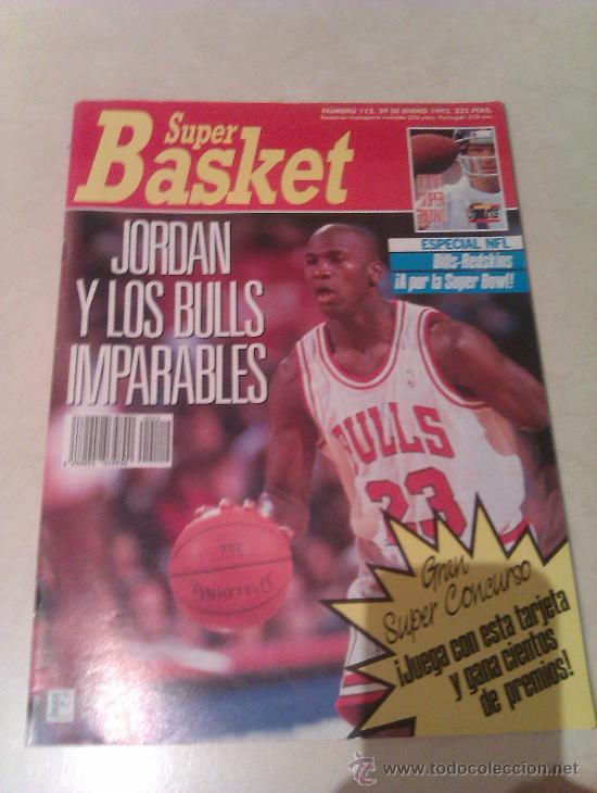 REVISTA SUPERBASKET SUPER BASKET AÑO 1992 NUMERO 112 BALONCESTO (Coleccionismo Deportivo - Revistas y Periódicos - otros Deportes)