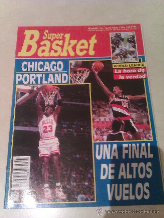 REVISTA SUPERBASKET SUPER BASKET AÑO 1992 NUMERO 131 BALONCESTO (Coleccionismo Deportivo - Revistas y Periódicos - otros Deportes)