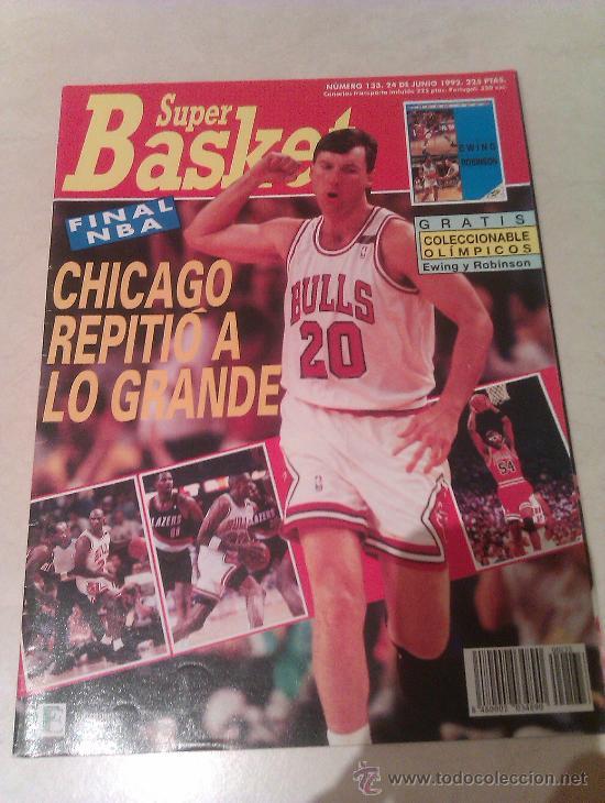 REVISTA SUPERBASKET SUPER BASKET AÑO 1992 NUMERO 133 BALONCESTO (Coleccionismo Deportivo - Revistas y Periódicos - otros Deportes)