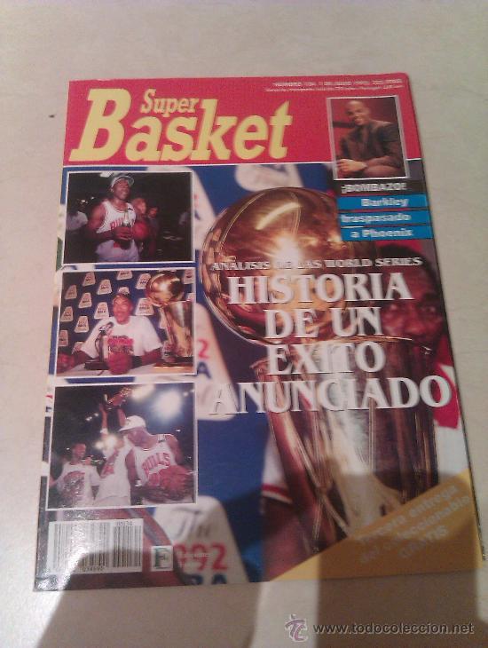 REVISTA SUPERBASKET SUPER BASKET AÑO 1992 NUMERO 134 BALONCESTO (Coleccionismo Deportivo - Revistas y Periódicos - otros Deportes)