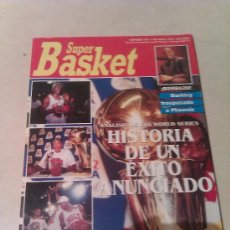 Coleccionismo deportivo: REVISTA SUPERBASKET SUPER BASKET AÑO 1992 NUMERO 134 BALONCESTO. Lote 32122173
