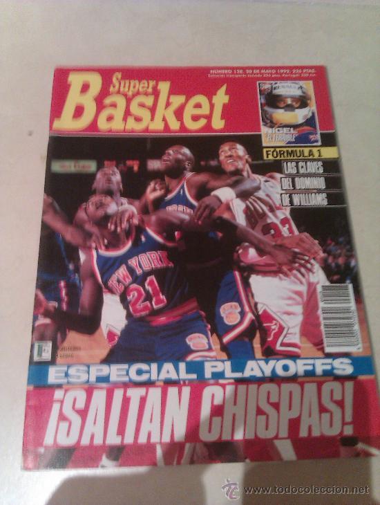 REVISTA SUPERBASKET SUPER BASKET AÑO 1992 NUMERO 128 BALONCESTO (Coleccionismo Deportivo - Revistas y Periódicos - otros Deportes)