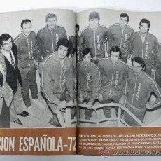 Coleccionismo deportivo: REVISTA REBOTE DE BALONCESTO, AÑO COMPLETO 1972, BASKET, DE ENERO Nº130 A DICIEMBRE N.139 AMBAS INCU. Lote 32174440