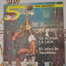 Coleccionismo deportivo: REVISTA BALONCESTO 5 TODO BALONCESTO Nº 30 OCTUBRE - NOVIEMBRE 1981 . Lote 32599636