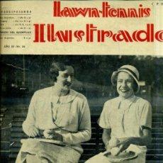 Coleccionismo deportivo: LAWN TENNIS ILUSTRADO Nº 30 (AÑO 1931). Lote 32773037