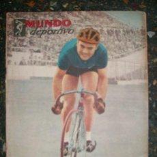 Coleccionismo deportivo: REVISTA MUNDO DEPORTIVO Nº 160 - ARGENTINA - AÑO 1952 - MATERIAL UNICO!. Lote 33668219