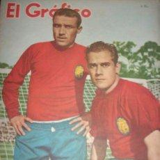 Coleccionismo deportivo: EL GRAFICO Nº 2230 (1962) - CONTIENE NOTA MARTÍN KARADAGIAN - ARGENTINA - EJEMPLAR UNICO!!. Lote 33681037