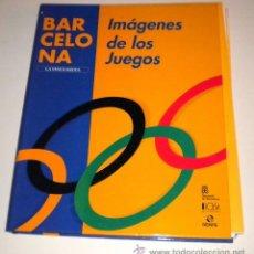 Collezionismo sportivo: BARCELONA IMAGENES DE LOS JUEGOS - COLECCIONABLE DE LA VANGUARDIA DE GRAN FORMATO COMPLETO CON TAPAS. Lote 34139960