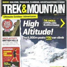 Coleccionismo deportivo: 1 EJEMPLAR REVISTA - TREK AND MOUNTAIN ( MONTAÑISMO Y ALPINISMO )- AGOSTO 2010 ( EN INGLES ). Lote 34394107