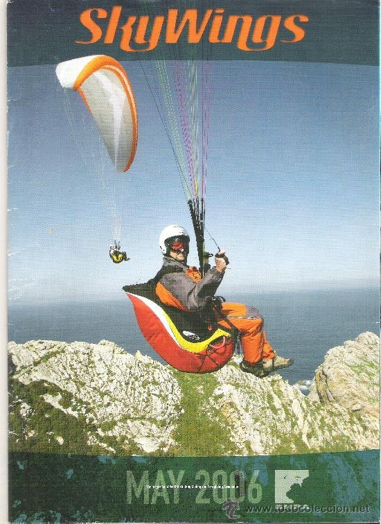 1 EJEMPLAR REVISTA - PARAPENTE PARACAIDISMO - SKY WINGS ( EN INGLES ) - MAYO 2006 (Coleccionismo Deportivo - Revistas y Periódicos - otros Deportes)