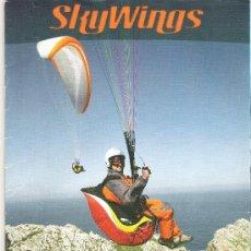 Coleccionismo deportivo: 1 EJEMPLAR REVISTA - PARAPENTE PARACAIDISMO - SKY WINGS ( EN INGLES ) - MAYO 2006. Lote 47040657