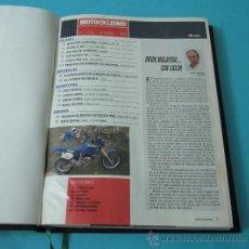 Coleccionismo deportivo: TOMO ENCUADERNANDO LA REVISTA MOTOCICLISMO Nº1196, Nº1194, Nº1193, Nº1191, Nº1187, Nº1185, Nº1184 . Lote 34515028