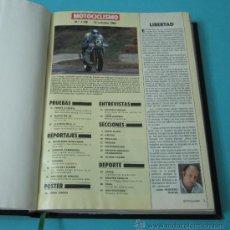 Coleccionismo deportivo: TOMO ENCUADERNANDO LA REVISTA MOTOCICLISMO Nº1129, Nº1142, Nº1162, Nº1176, Nº1177, Nº1181, Nº1182 . Lote 34515103
