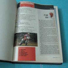 Coleccionismo deportivo: TOMO ENCUADERNANDO LA REVISTA MOTOCICLISMO Nº1199, Nº1205, Nº1206, Nº1207, Nº1208, Nº1209, Nº1210 . Lote 34515190