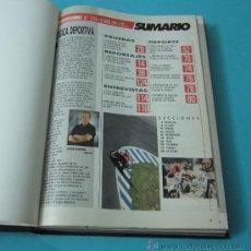 Coleccionismo deportivo: TOMO ENCUADERNANDO LA REVISTA MOTOCICLISMO Nº1213, Nº1219, Nº1221, Nº1229, Nº1230, Nº1231, Nº1232 . Lote 34518426