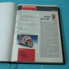 Coleccionismo deportivo: TOMO ENCUADERNANDO LA REVISTA MOTOCICLISMO Nº1198, Nº1197, Nº1200, Nº1201, Nº1202, Nº1203, Nº1204 . Lote 34518491