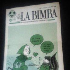 Coleccionismo deportivo: LA BIMBA SETMANARI HUMORÍSTIC D'ESPORTS Nº1 - 9 SETEMBRE 1980. Lote 34504644