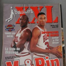 Coleccionismo deportivo: REVISTA BALONCESTO NBA XXL BASKET 26 MICHAEL JORDAN SCOTTIE PIPPEN OPEN MCDONALDS 1997 CHICAGO BULL. Lote 34609218