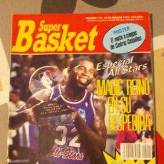 Coleccionismo deportivo: REVISTA BALONCESTO NBA SUPERBASKET MAGIC JOHNSON MVP ALL STAR 1992 . Lote 34609366