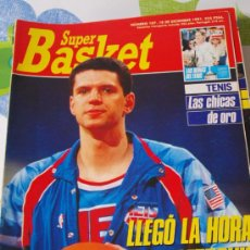 Coleccionismo deportivo: REVISTA BALONCESTO NBA SUPERBASKET 107 1991 DRAZEN PETROVIC NEW JERSEY NETS . Lote 34609389