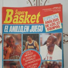 Coleccionismo deportivo: REVISTA BALONCESTO NBA SUPERBASKET 101 MICHAEL JORDAN MAGIC JOHNSON 1991 BARKLEY DREXLER. Lote 34609397