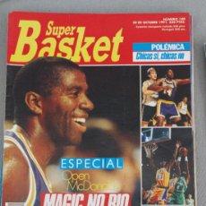 Coleccionismo deportivo: REVISTA BALONCESTO NBA SUPERBASKET 100 MAGIC JOHNSON ESPECIAL OPEN MCDONALDS . Lote 34609436