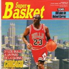 Coleccionismo deportivo: REVISTA BALONCESTO NBA 1991 SUPERBASKET 85 MICHAEL JORDAN CHICAGO BULLS FINAL NBA . Lote 34615481