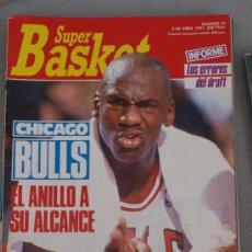 Coleccionismo deportivo: REVISTA BALONCESTO NBA 1991 SUPERBASKET 74 MICHAEL JORDAN CHICAGO BULLS . Lote 34615528