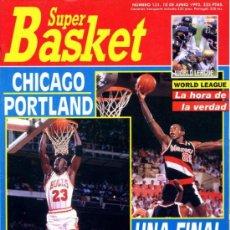 Coleccionismo deportivo: REVISTA BALONCESTO NBA 1991 SUPERBASKET 131 MICHAEL JORDAN CHICAGO BULLS CLYDE DREXLER PORTLAND . Lote 34615890