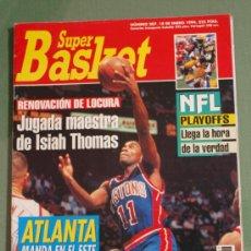 Coleccionismo deportivo: REVISTA BALONCESTO NBA 1994 SUPERBASKET 207 ISIAH THOMAS DETROIT PISTONS . Lote 34616454