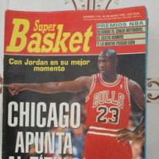 Coleccionismo deportivo: REVISTA BALONCESTO NBA 1991 SUPERBASKET 178 MICHAEL JORDAN CHICAGO BULLS . Lote 34616715