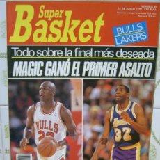 Coleccionismo deportivo: REVISTA BALONCESTO NBA 1991 SUPERBASKET 83 FINAL NBA MICHAEL JORDAN MAGIC JOHNSON BULLS LAKERS. Lote 34638950