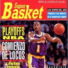 Coleccionismo deportivo: REVISTA BALONCESTO NBA 1993 SUPERBASKET 176 NBA PLAYOFFS REPORTAJE 25 AÑOS ULTIMOS AÑOS DE PLAYOFFS. Lote 34639118
