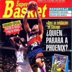 Coleccionismo deportivo: REVISTA BALONCESTO NBA 1993 SUPERBASKET 172 NBA PLAYOFFS FAVORITOS PHOEINX SUNS. Lote 34639161