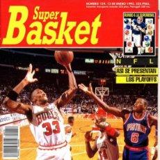 Coleccionismo deportivo: REVISTA BALONCESTO NBA 1993 SUPERBASKET 159 SCOTTIE PIPPEN CHICAGO BULLS. Lote 34639325