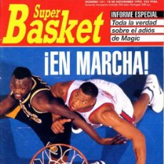 Coleccionismo deportivo: REVISTA BALONCESTO NBA 1992 SUPERBASKET 151 COMIENZA LA NBA. Lote 34639653