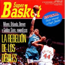 Coleccionismo deportivo: REVISTA BALONCESTO NBA 1991 SUPERBASKET 104 POSTER HOMENAJE MAGIC JOHNSON LAKERS. Lote 34639818