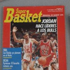 Coleccionismo deportivo: REVISTA BALONCESTO NBA 1991 SUPERBASKET 15 MICHAEL JORDAN BULLS. Lote 34640213