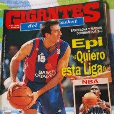 Coleccionismo deportivo: REVISTA BALONCESTO GIGANTES BASKET SABONIS 445 PLAYOFFS EPI BARCELONA. Lote 34641572